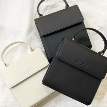 KLON ACTIVE LEATHER BAG -VNM- FLAP TYPE